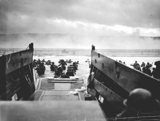 The Normandy Invasion - Image from www.army.mil