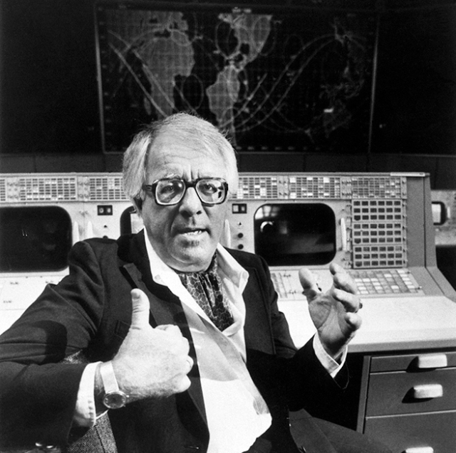 Ray Bradbury at NASA - Image from WIRED.COM